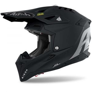 Airoh-Aviator-3-Flat-Black-Cross-Helmet-Helm-Casque-Kask-Casco-1