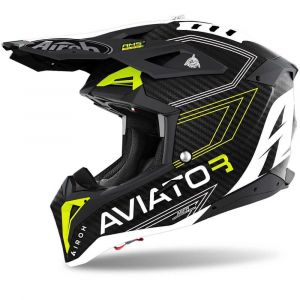 Airoh-Aviator-3-Primal-Carbon-Flat-yellow-Cross-Helmet-Helm-Casque-Kask-Casco-1