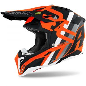 Airoh-Aviator-3-Rainbow-Flat-orange-Cross-Helmet-Helm-Casque-Kask-Casco-1