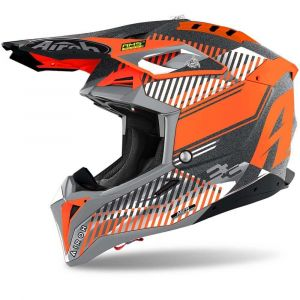 Airoh-Aviator-3-Wave-Flat-orange-Cross-Helmet-Helm-Casque-Kask-Casco-1
