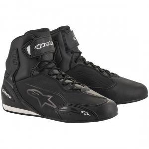 Alpinestars Faster-3 Shoes Black Gun Metal