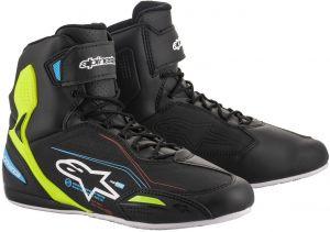 Alpinestars_Faster-3_Shoes_Black_Yellow_Fluo_Light_Blue_Riding_Shoes_Motorradschuhe_Motorschoenen_Baskets_Zapatos_Ayakkabilar_1.jpg