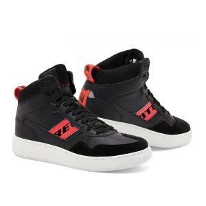 Revit Pacer Shoes Black-Neon Red Riding-Shoes-Motorradschuhe-Motorschoenen-Baskets-Zapatos-Ayakkabilar-1