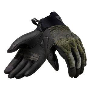 Revit Kinetic Gloves Black-Brown