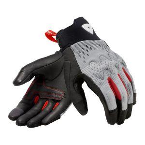 Revit Kinetic Gloves Light Grey-Black