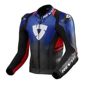 Revit Quantum 2 Jacket Blue-Neon Red