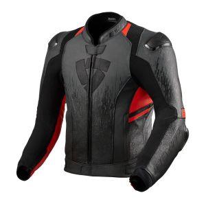 Revit Quantum 2 Jacket Anthracite-Neon Red