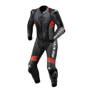 Revit Quantum 2 One-Piece Suit Anthracite-Neon Red