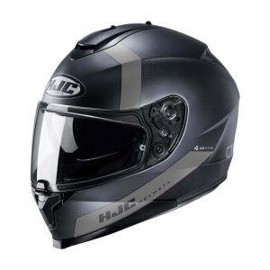 HJC-C70-Eura-Black-Grey-Full-Face-Helmet-Helm-Casque-Kask-Casco-1