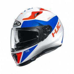 HJC-I70-Tas-White-Full-Face-Helmet-Helm-Casque-Kask-Casco-1