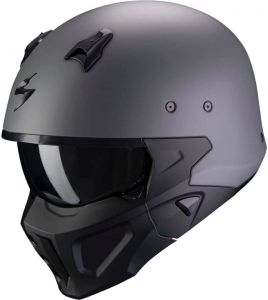 Scorpion-COVERT-X-SOLID-Cement-Grey-Matt-Open-Face-Helmet-Helm-Casque-Kask-Casco-1.jpg