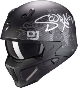 Scorpion-COVERT-X-XBORG-Matt-black-Silver-Open-Face-Helmet-Helm-Casque-Kask-Casco-1.jpg