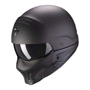 Scorpion-EXO-COMBAT-EVO-SOLID-Matt-Black-Open-Face-Helmet-Helm-Casque-Kask-Casco-1.jpg