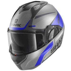 Shark-Evo-GT-Blank-Mat-ABK-Modular-Helm-Casque-Kask-Casco-1