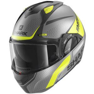 Shark-Evo-GT-Blank-Mat-AYK-Modular-Helm-Casque-Kask-Casco-1