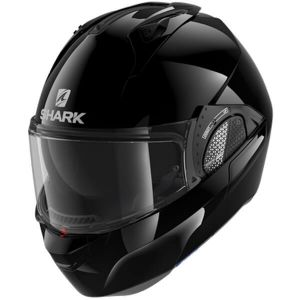 Shark-Evo-GT-Glossy-Black-BLK-Modular-Helm-Casque-Kask-Casco-1