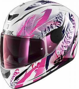 Shark_D_SKWAL_2_SHIGAN_WKV_White_Black_Violet_Full_Face_Helmet_Helm_Casque_Kask_Casco_1