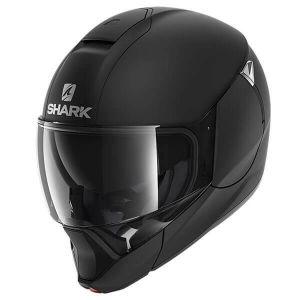 Shark_EVOJET_BLANK_Mat_KMA_Black_Mat_Full_Face_Jet_Helmet_Helm_Casque_Kask_Casco_1