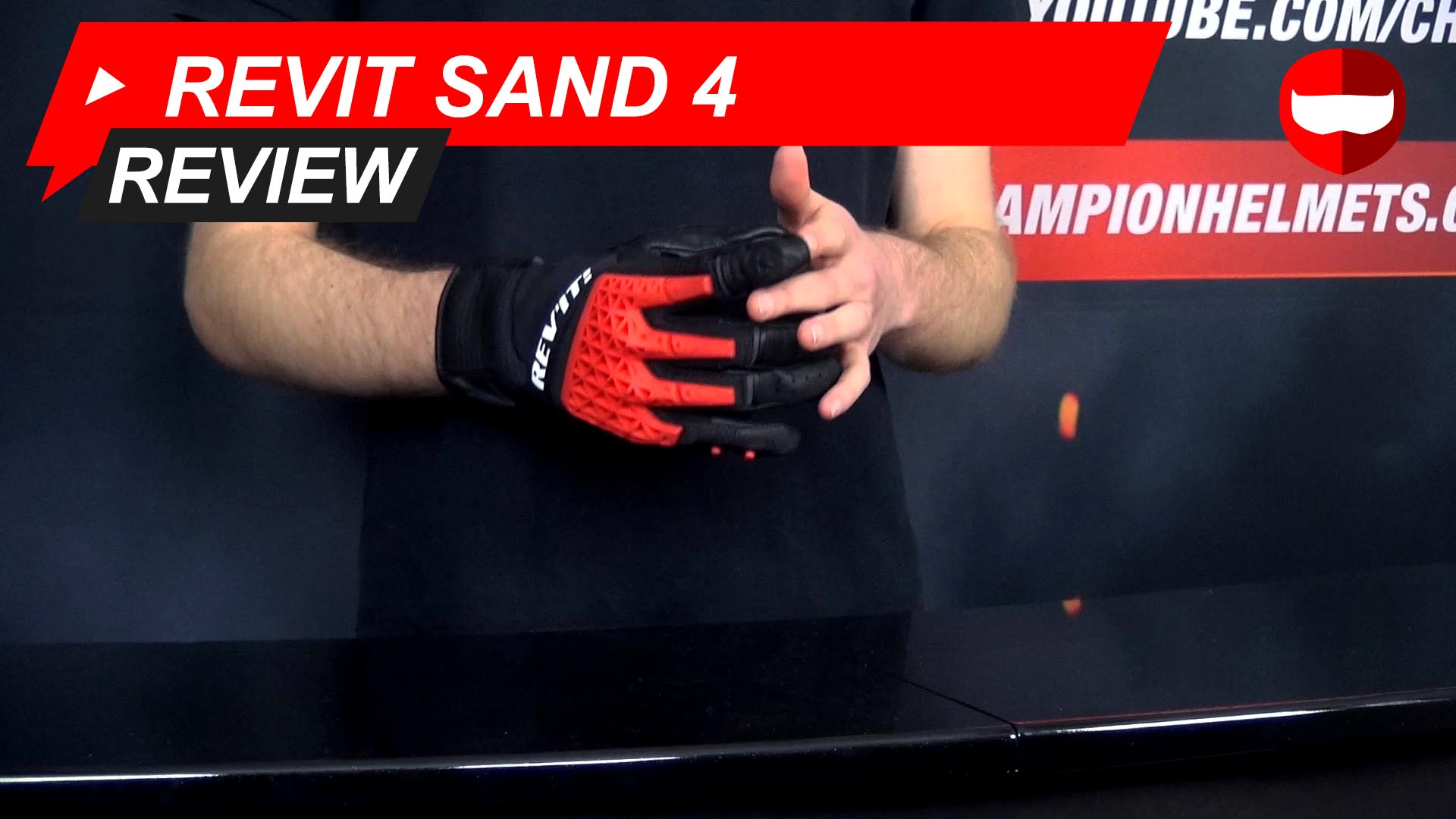 Revit Sand 4 Glove Review