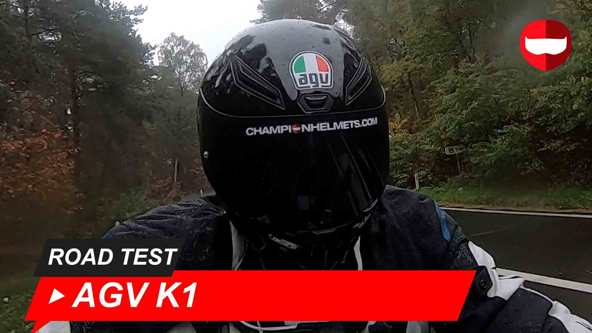 Agv K1 Road Test And Video Champion Helmets Motorcycle Gear