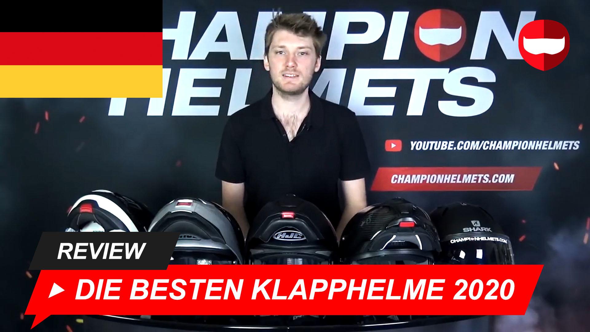 Klapphelm test 2017 motorrad Presentation of